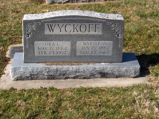 Myrtle O (Johnson) Wyckoff