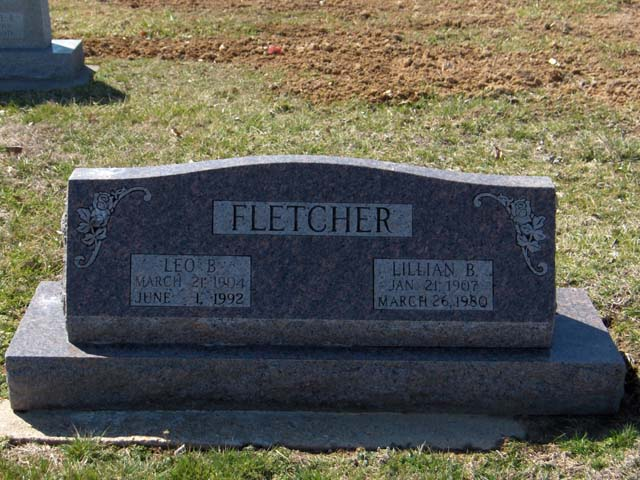 Lillian B (Burford) Fletcher