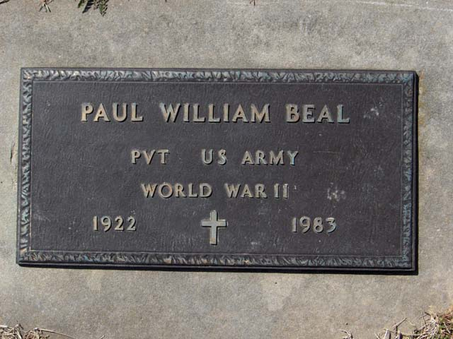 Paul William Beal