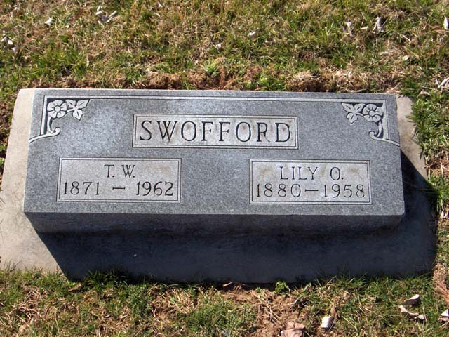 Lily O (Hency) Swofford