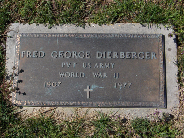 Fred George Dierberger