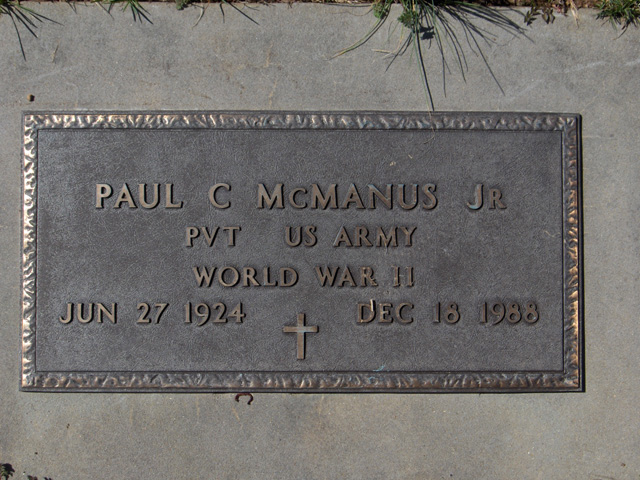 Paul C McManus, Jr