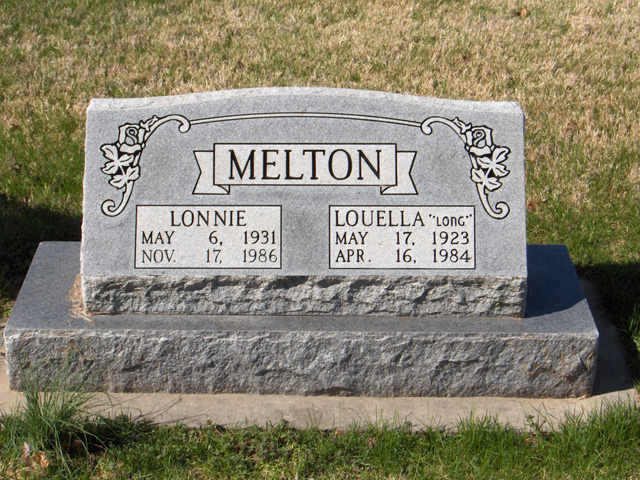 Louella M (Long) Melton