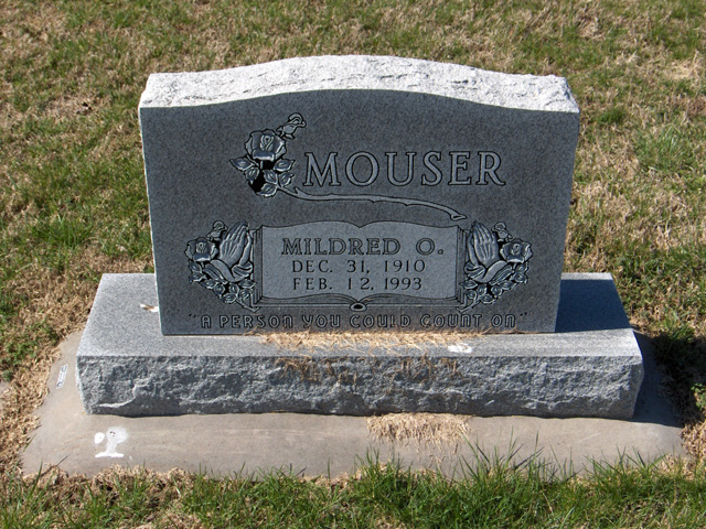 Mildred O Mouser