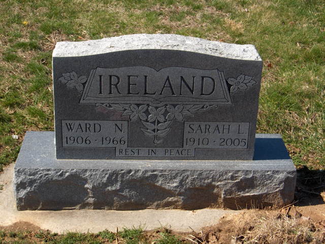 Ward Nathan Ireland, Sr