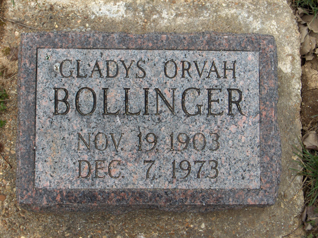 Gladys Orvah Bollinger