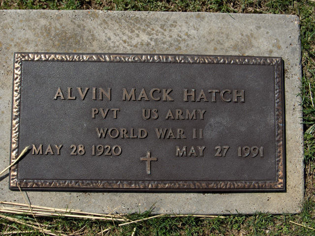 Alvin Mack Hatch