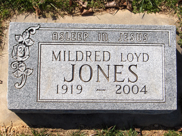Mildred (Loyd) Jones