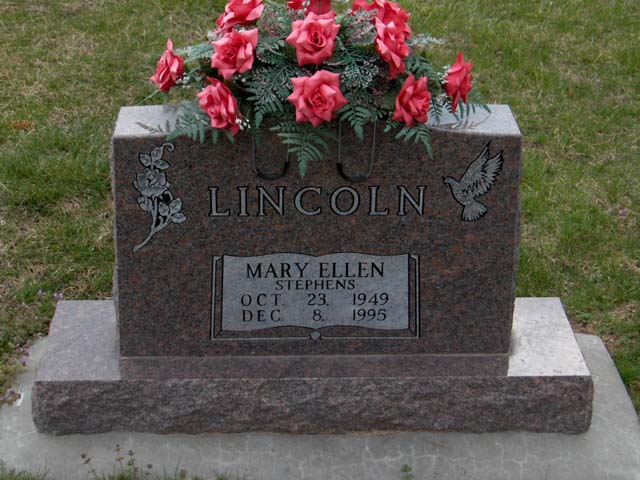 Mary Ellen (Stephens) Lincoln